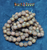 8MM Etch Rose Agate Picasso Aged Druk Beads 150 pieces