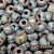 4/0 Aged Copper Picasso Seed beads are a original coating that gives them a steam punk vibe.
