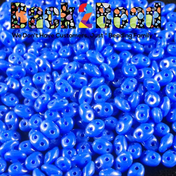Royal Blue ( 33050 ) SuperDuo 2.5mm x 5mm  ( 25 gram bag )