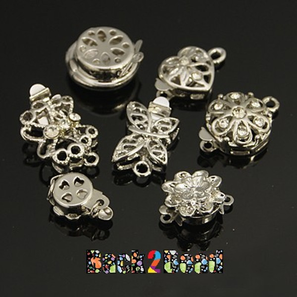 Get 5 beautiful assorted box clasps for one low price. These are beautifully carved, the perfect accent pieces for your project.