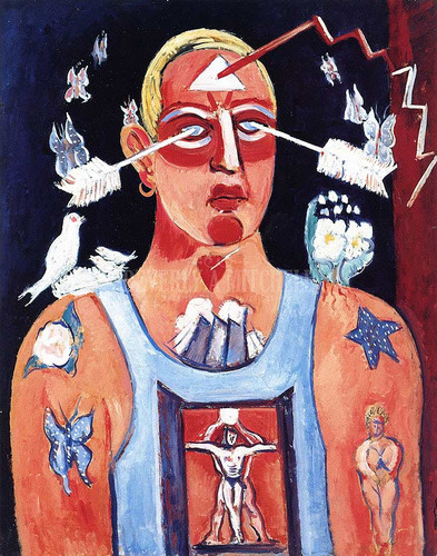 Sustained Comedy by Marsden Hartley