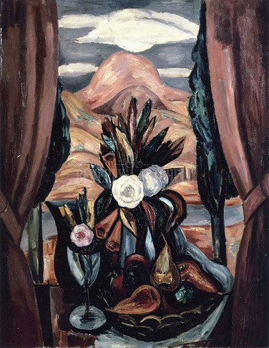 Window New Mexico by Marsden Hartley