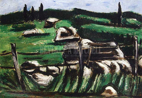 Dogtown Common by Marsden Hartley