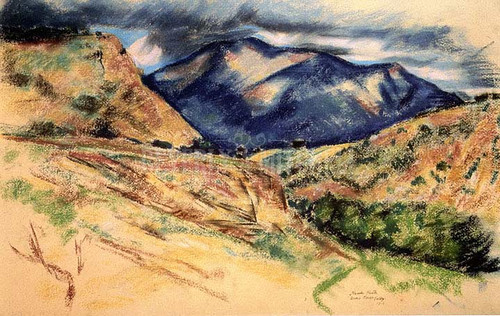 Arroyo Hondo Valdez by Marsden Hartley