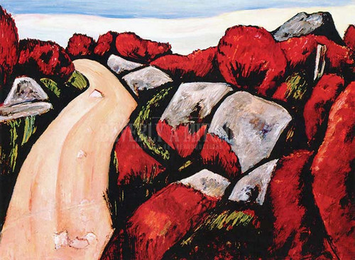 Blueberry Highway Dogtown by Marsden Hartley