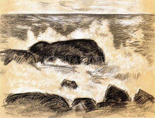 Breaking Surf by Marsden Hartley