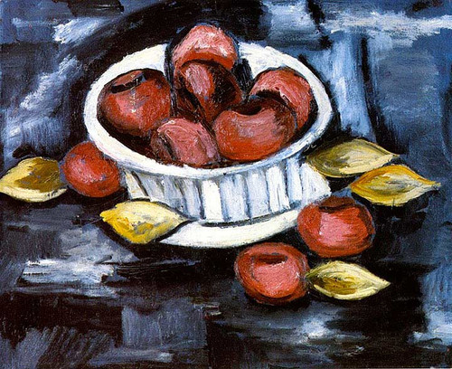 Compote Of Fruits by Marsden Hartley