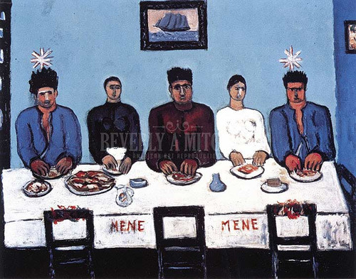 Fishermens Last Supper by Marsden Hartley