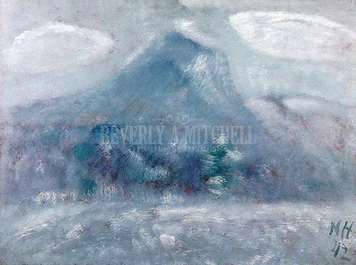 Mount Katahdin Snow Storm by Marsden Hartley