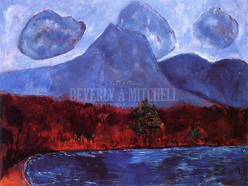 Mount Katahdin by Marsden Hartley