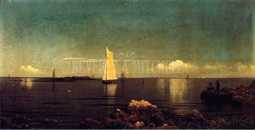 A Summer Afternoon by Martin Johnson Heade