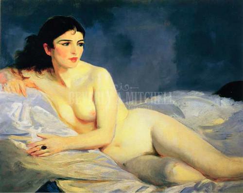 Betalo Nude by Robert Henri