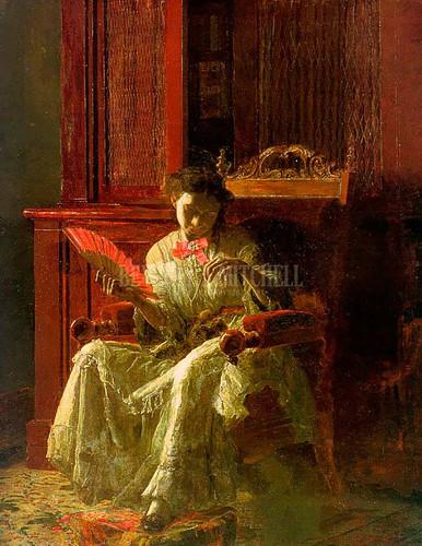 Kathrin 1872 by Thomas Eakins