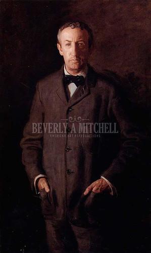 Portrait Of William B. Kurtz by Thomas Eakins