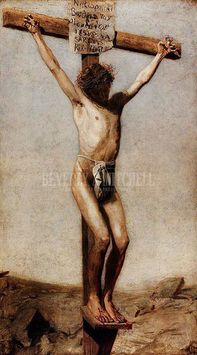 The Crucifixion by Thomas Eakins