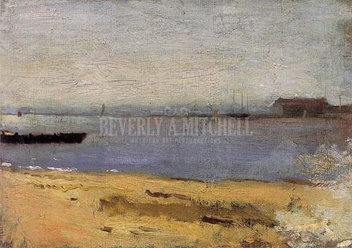 Delaware River Scene 1881 by Thomas Eakins
