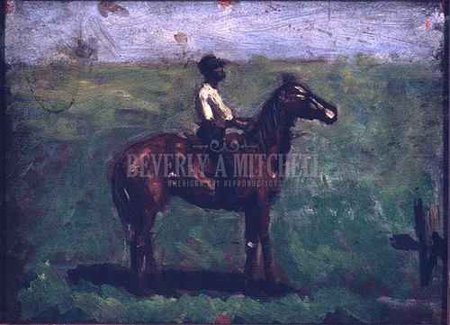 Negro Boy On A Bay Horse by Thomas Eakins
