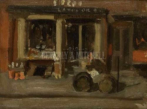 A Street Scene by Thomas Eakins