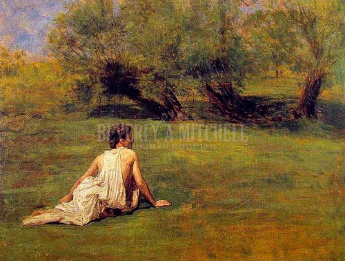 An Arcadian by Thomas Eakins