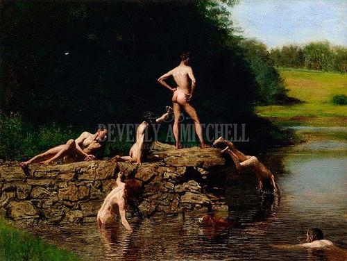 Swimming by Thomas Eakins