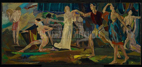 Freshness Of The Wounded by Arthur B. Davies