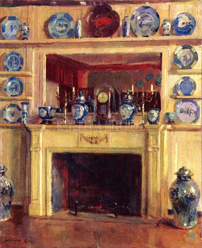 Blue And White by Walter Gay