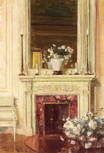 Room In The Villa Sylvia by Walter Gay