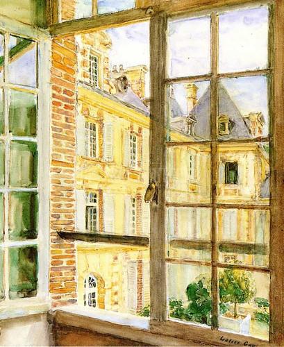 The Open Window Breau by Walter Gay