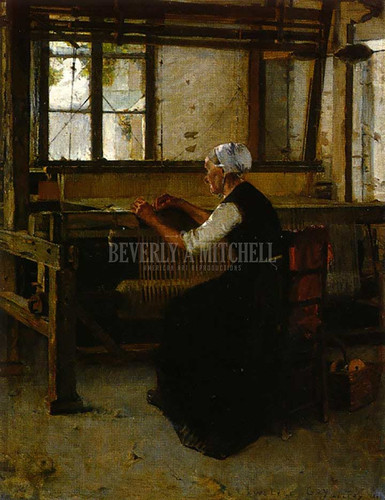 The Weaver by Walter Gay