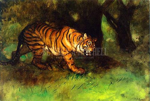 The Tiger by Arthur B. Davies
