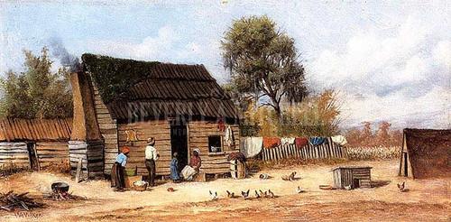 Cabin In The South by William Aiken Walker