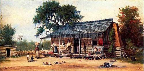 Cabin by William Aiken Walker