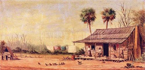 The Old Cabin by William Aiken Walker