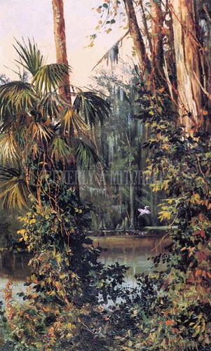 The Ocklawaha River by William Aiken Walker