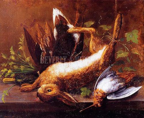 Rabbit Duck And Snipe by William Aiken Walker
