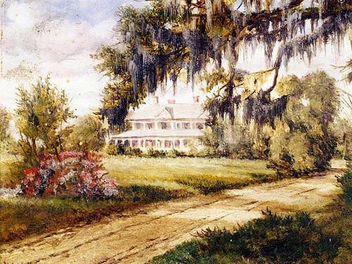 Runnymede On The Ashley River by William Aiken Walker