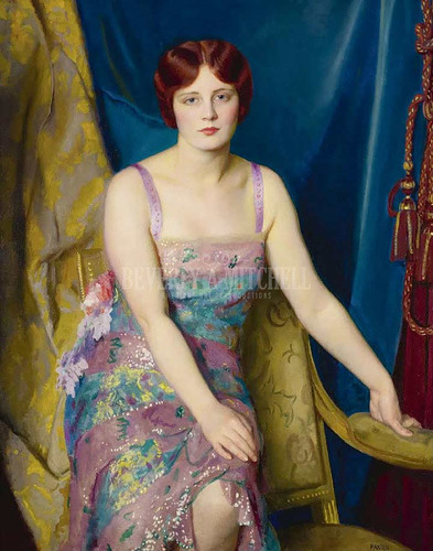 Glitter by William Macgregor Paxton