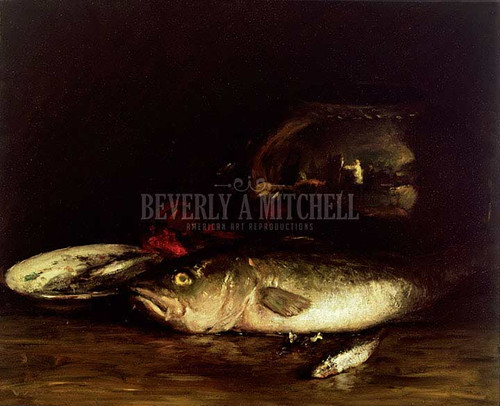 Cod by William Merritt Chase