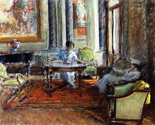 Friendly Advice by William Merritt Chase