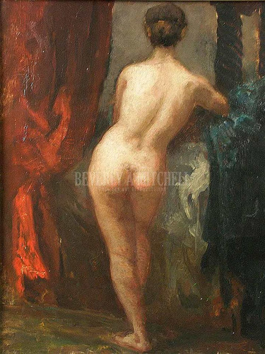 Nude by William Morris Hunt