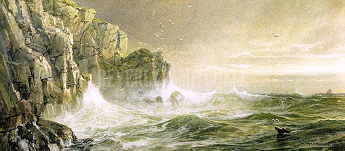 The Coast Of Cornwall by William Trost Richards