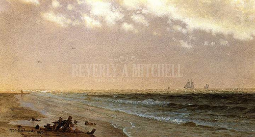 Along The Shore 2 by William Trost Richards