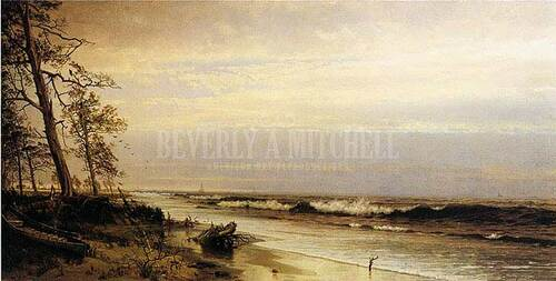 Atlantic City Shoreline by William Trost Richards