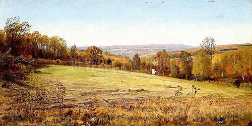 Chester County Landscape by William Trost Richards