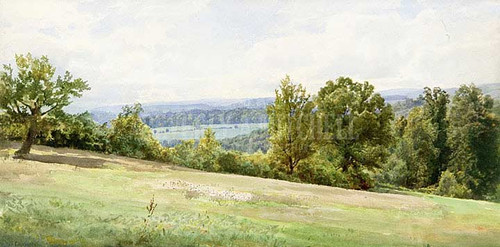 Chester Valley Pennsylvania by William Trost Richards