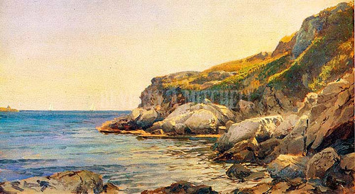 Conanicut 11 by William Trost Richards