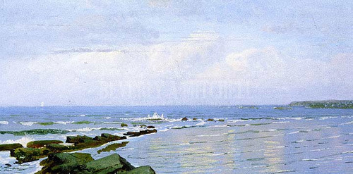 Ocean Sky Horizon by William Trost Richards