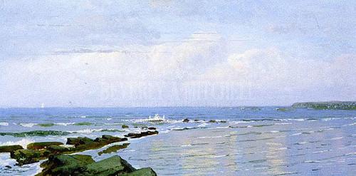 Ocean Sky Horizon by William Trost Richards