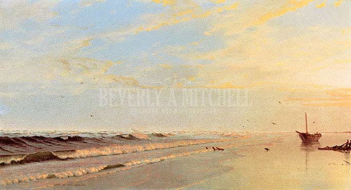 On The Shore by William Trost Richards