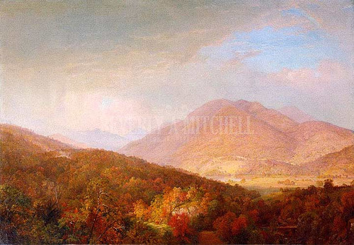 Autumn In The Adirondacks by William Trost Richards